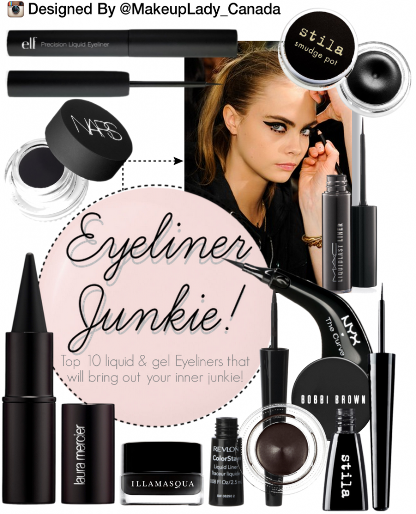Eyeliner Junkie: Top Ten Liquid & Gel Eyeliners |Toronto Makeup Artist
