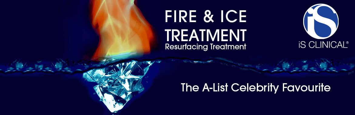 FIRE & ICE FACIAL. Our most popular facial, this intensive clinical treatment is designed to rapidly and safely resurface the skin, diminishing the appearance of fine lines and wrinkles while smoothing, softening, and encouraging overall skin rejuvenation. (read more)